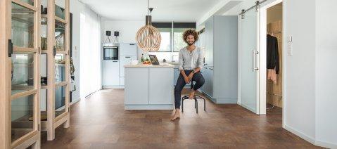 wineo Designboden Küche Fliese Vinylboden