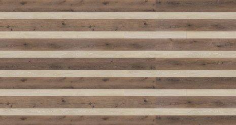 wineo Designboden Verlegekombinationen Muster Holzstreifen hell und dunkel
