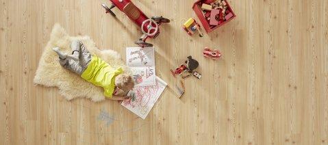 wineo PURLINE Bioboden Kinderzimmer Teppich