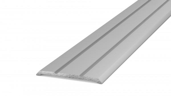 Übergangsprofil 25 mm Elastisch Kleben Silber.jpg